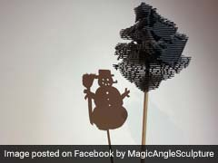 Science Meets Art: Sculptures That Change With Every Angle Awe Twitter