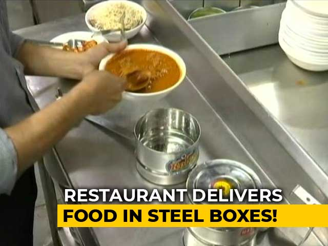 Video : Pune Restaurant Delivers Food In Steel Lunch Boxes After Plastic Ban