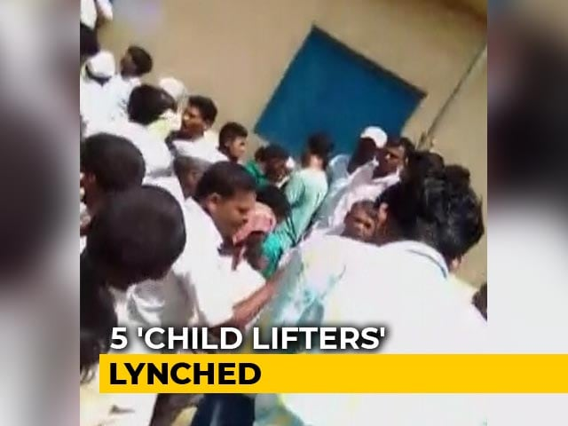 Video : How Villagers In Maharashtra Turned Into Crazed Mob, Killed 5