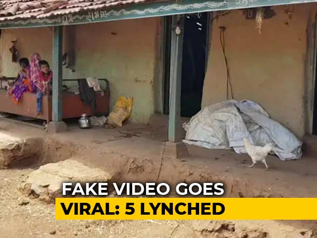 Video : Video That Unleashed A Lynch Mob In Dhule Was Of Dead Syrian Children