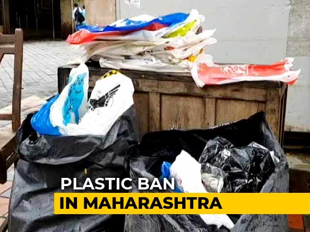 Video : Maharashtra Plastic Ban Comes Into Effect From June 23