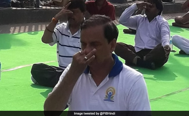 'Yoga Has Become A Global Practice,' Says Union Minister Mahesh Sharma
