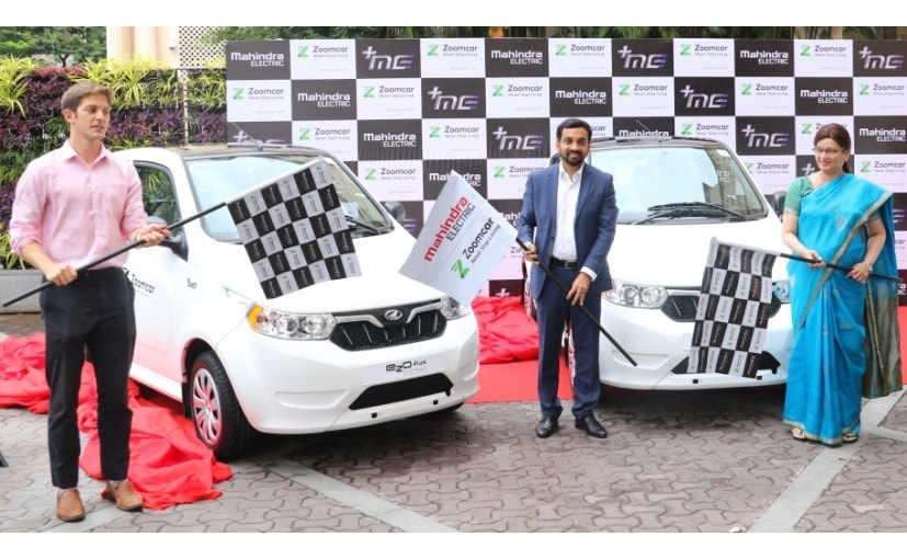 Pune is the 6th city to get Mahindra e2oPlus electric cars on the Zoomcar platform