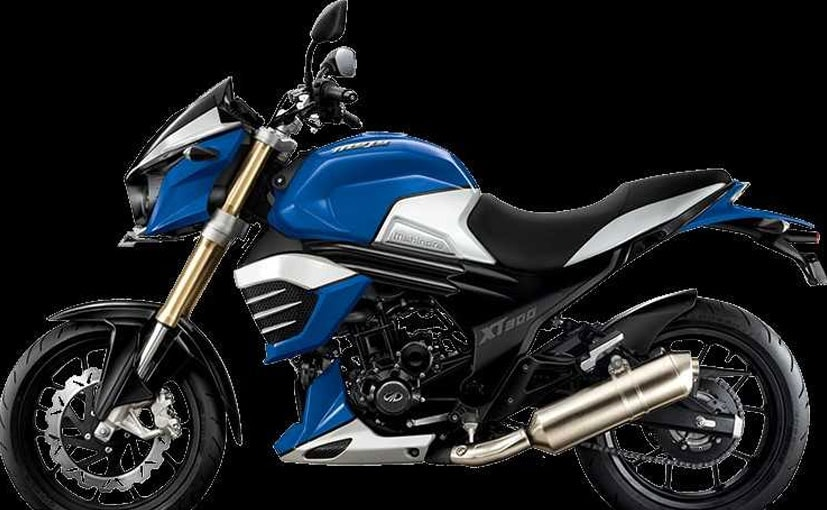 The price of the Mahindra Mojo XT300 is Rs. 1.79 Lakh