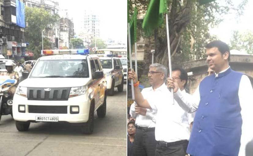 Mahindra TUV300 Joins The Mumbai Police Fleet
