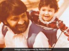 Mahira Khan's Never-Seen-Before Childhood Pic Is Super Duper Cute