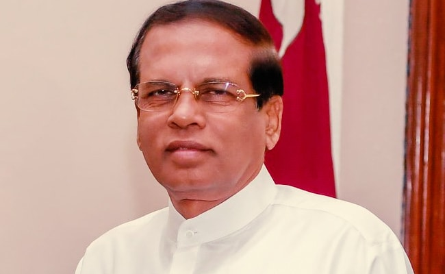 Sri Lanka President Sirisena Won't Stand For Re-Election In November Poll