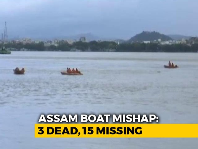 Video : 3 Dead, Several Missing After Boat Capsizes In Brahmaputra