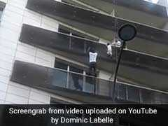 Watch: Man Scaled 4 Floors To Save Child,