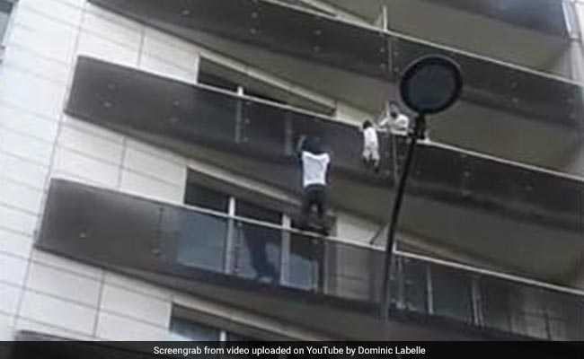 Watch: Man Scaled 4 Floors To Save Child, 'Real Spiderman', Say People