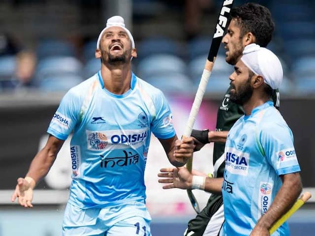 Win Over Arch-Rivals Pakistan made comfortable For India at Champions Trophy Hockey