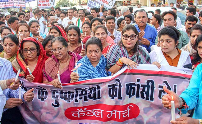 After Protests Over Gang-Rape In Madhya Pradesh, Politics Takes Over