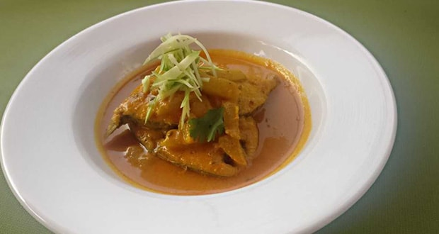 mango and fish curry
