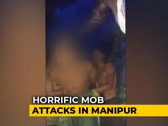 Video : Mistaken For Cannibal Kidnappers, Locals Thrashed 2 Men Near Imphal