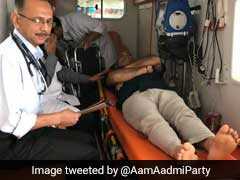 Manish Sisodia, On Hunger Strike At Lt Governor's, Taken To Hospital