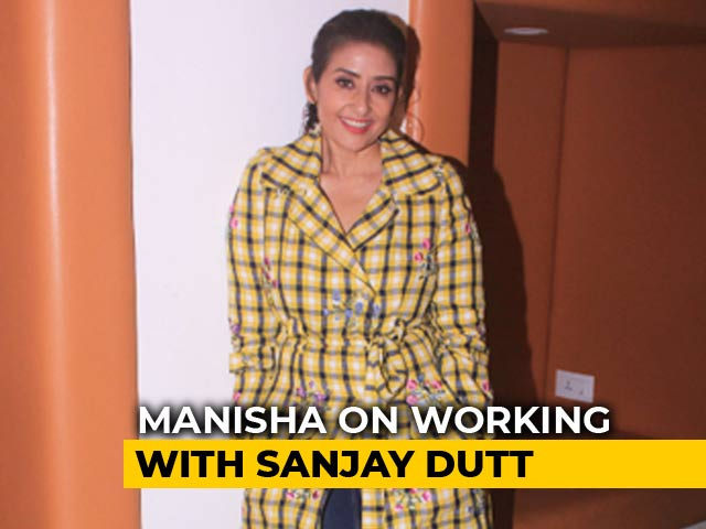 I Was Always In Awe Of Sanjay Dutt: Manisha Koirala