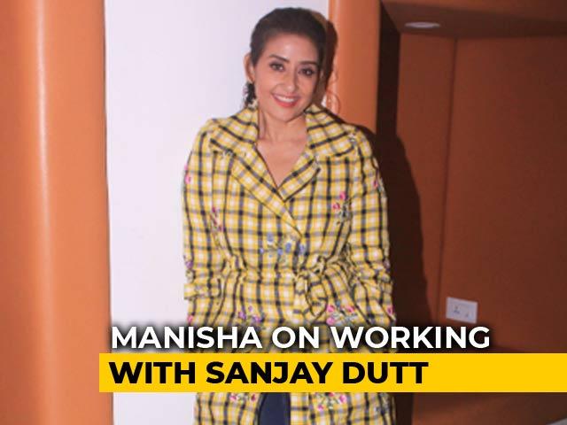 Video : I Was Always In Awe Of Sanjay Dutt: Manisha Koirala