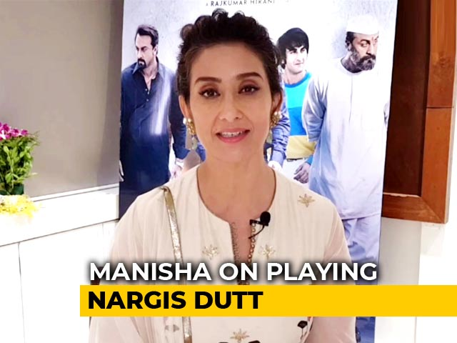 Video : I Was Skeptical To Play Nargis Dutt in <i>Sanju</i>: Manisha Koirala