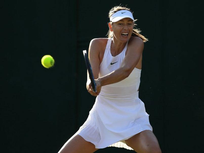 Maria Sharapova Insists Shes Still Grand Slam Force Despite Wimbledon Misery