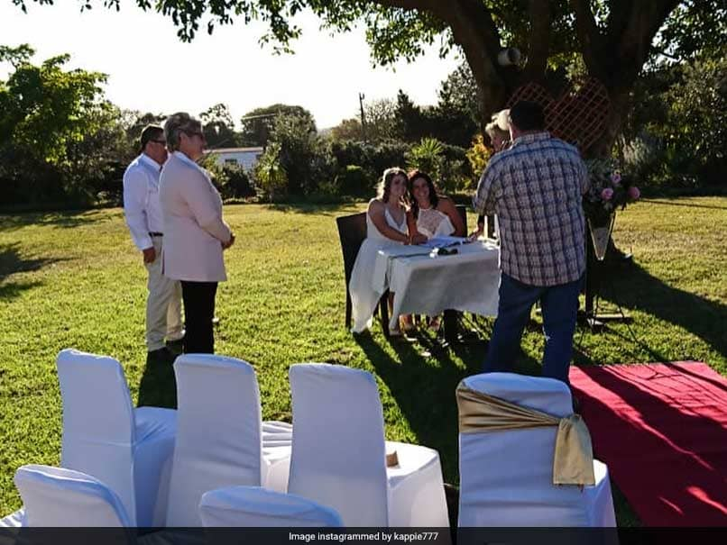 South African Women Cricketers Tie The Knot