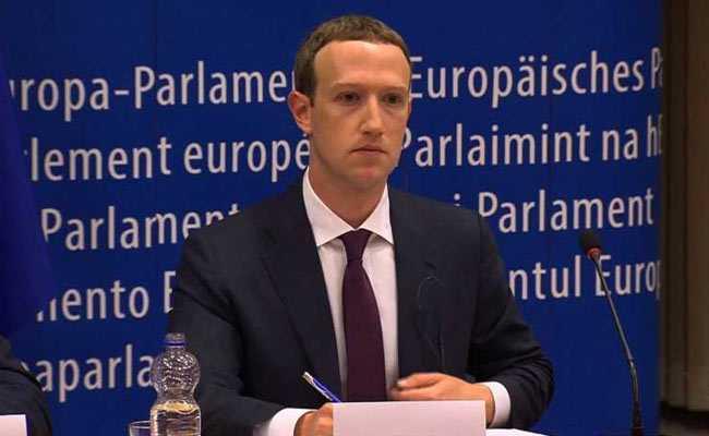 Mark Zuckerberg Apologises Again For Data Breach, Now In European Parliament