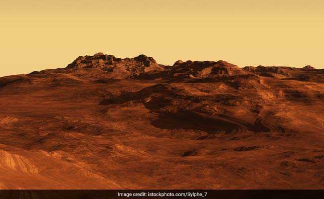 AGU: Explosive Volcanoes Likely Spawned Mysterious Martian Rock Formation