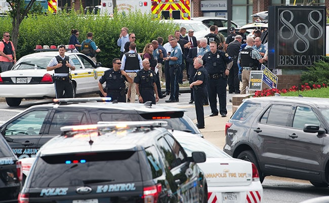 Man With 'Vendetta' Fires At Newspaper Office In US. 5 Dead