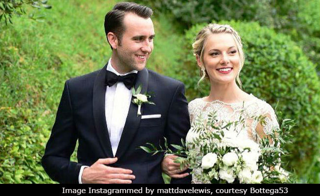 Matthew Lewis, Harry Potter's Neville Longbottom, Got Married And Twitter Was Confused For A Minute