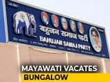 Video : Mayawati Gives Up Lucknow Bungalow, Not The One She Lives In As 'Caretaker'