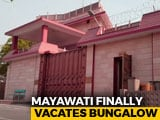 Video : Mayawati Vacates Bungalow That Was Turned Into Kanshi Ram Memorial