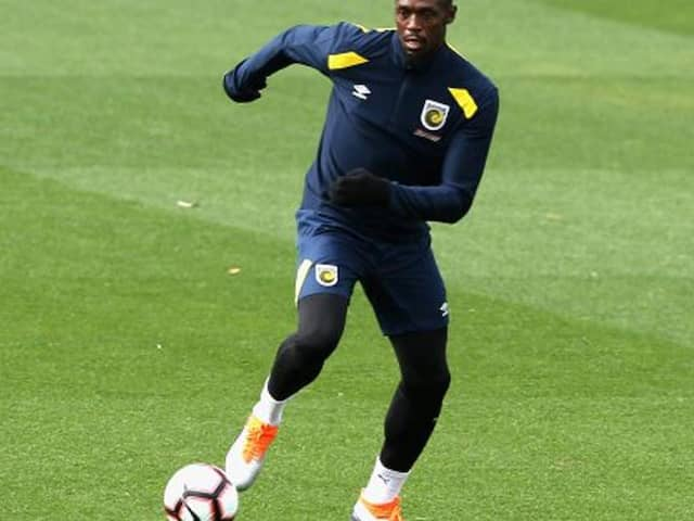 Thats why Usain Bolt is restless for his debut football match