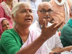 """Thousands Drowning, Dam Filled For 1 Person"": Medha Patkar's Barb At PM"
