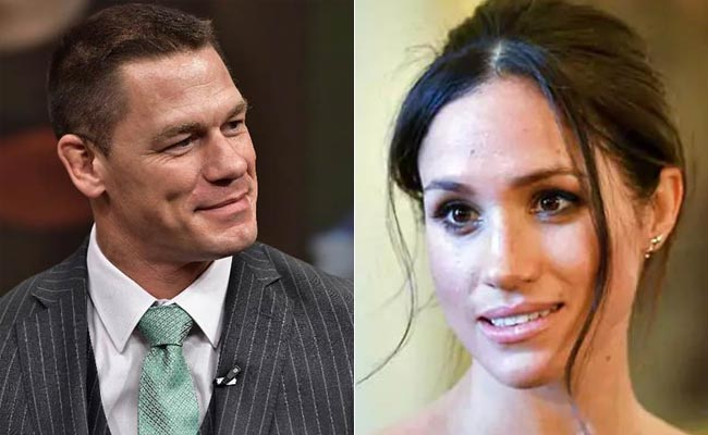 'Can Hop On A Plane': John Cena Jokes About Walking Meghan Markle Down The Aisle