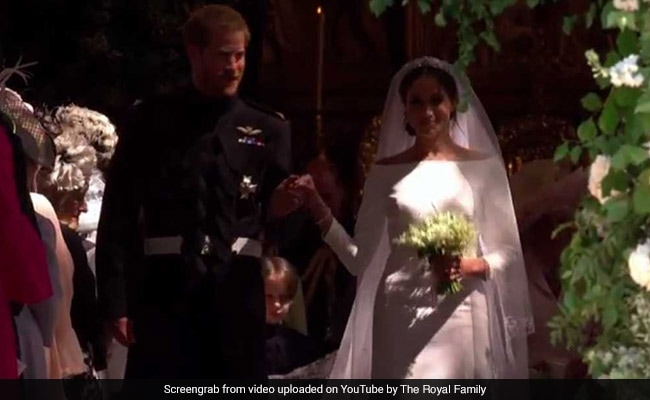 And They're Married. Prince Harry, Meghan Markle Exchange Wedding Vows
