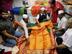 Yellow Paithani Saree For Meghan Markle, With Love From Mumbai <i>Dabbawalas</i>