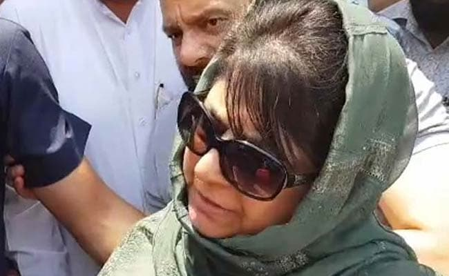 Mehbooba Mufti Asks Pak To Stop Ceasefire Violations, Respect Peace Initiative