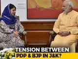 Video : End Of Ramzan Ceasefire Creates Fresh Tension Between BJP, Mehbooba Mufti