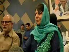 Highlights: Mehbooba Mufti Says J&K Not Enemy Territory, Muscular Policy Doesn't Work Here