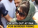 Video : Pakistan Must Respect Peace Initiative, Says Mehbooba Mufti