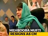 Video : Can't Treat J&K As Enemy Territory, Says Mehbooba Mufti