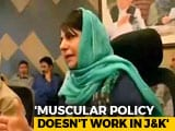 Video: Mehbooba Mufti Quits, Says Alliance With BJP Was Not For Power