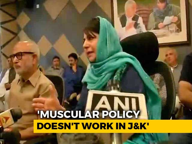 Video : Mehbooba Mufti Quits, Says Alliance With BJP Was Not For Power