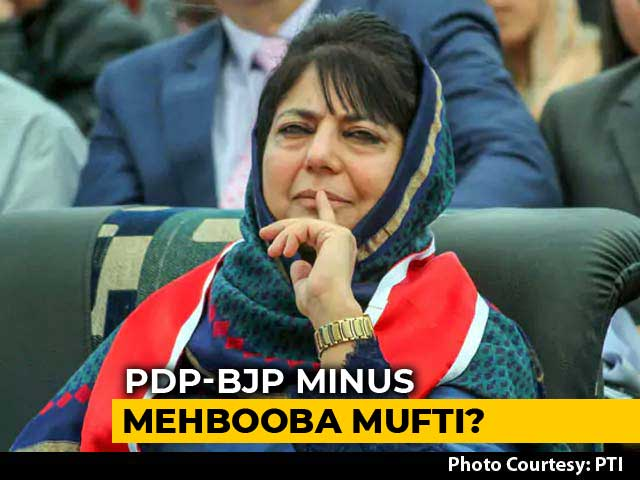 Video : 3 Lawmakers Of Mehbooba Mufti Rebel, Opening Chances Of Fresh Alliance
