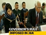 Video : Day After Coalition Collapse, Governor's Rule In Jammu and Kashmir