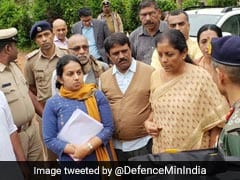 Nirmala Sitharaman Visits Flood-Hit Kodagu, Promises Help