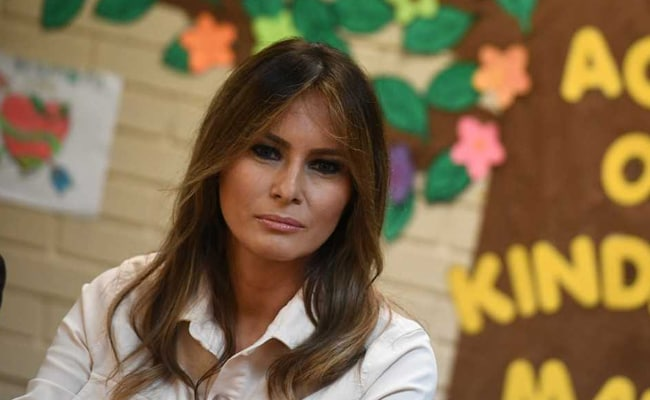 Melania border trip sends message: Darcy cartoon
