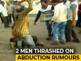 Video : Mob Beats Up 2 Men Suspecting Them To Be Child-Kidnappers In Gujarat