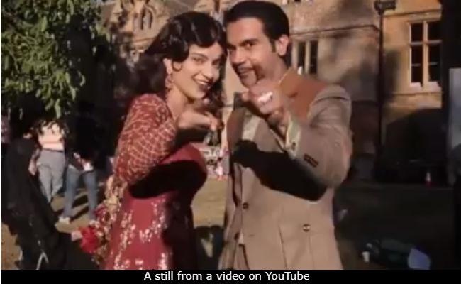 Mental Hai Kya: Kangana Ranaut And Rajkummar Rao Announce Release Date With A Quirky Video