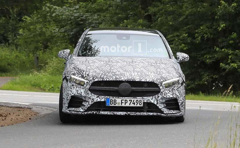 Mercedes-AMG A35 Sedan Spied At Nurburgring