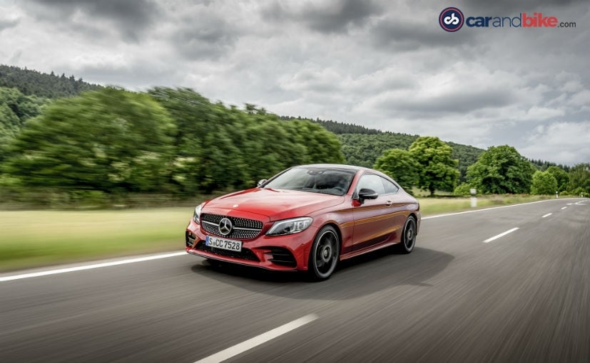 The Mercedes-Benz C-Class Coupe is India bound